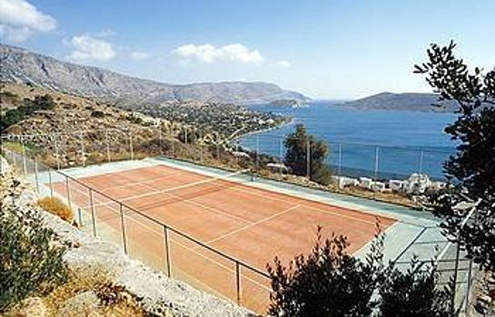 Campo de tennis Elounda Blu Hotel - Adults Only