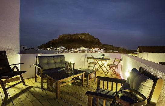 Vista esterna Lindos Boutique Rooms - Adults Only