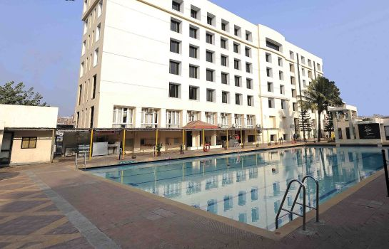 Exterior view GCC Hotel and Club