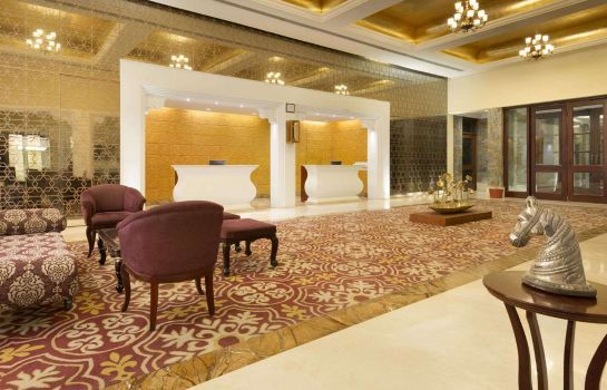 Lobby Ramada by Wyndham Udaipur Resort and Spa