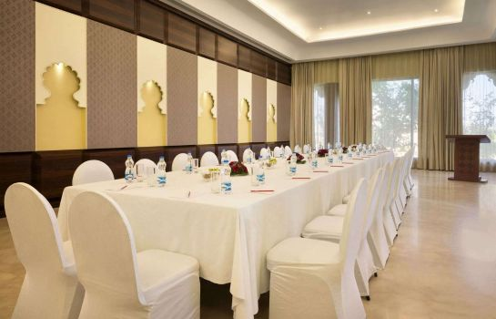 Conference room Ramada by Wyndham Udaipur Resort and Spa