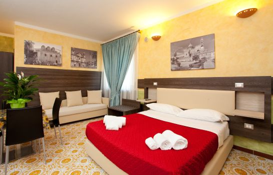 Four-bed room Kunesias Cinisi B & B