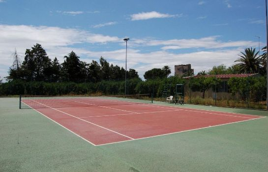 Tennis court Borgo Valle Rita - Country Resort