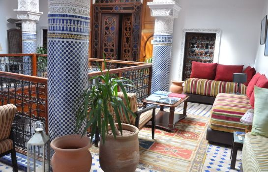 Vista all'interno Riad Adarissa