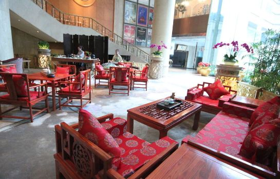 Bar del hotel Crowne Plaza Chengdu City Center