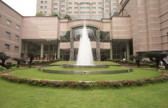 Jardín Crowne Plaza Chengdu City Center