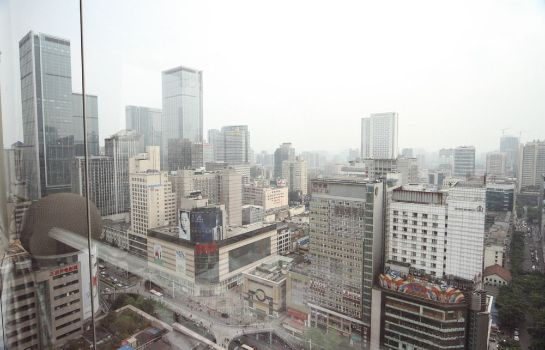Entorno Crowne Plaza Chengdu City Center