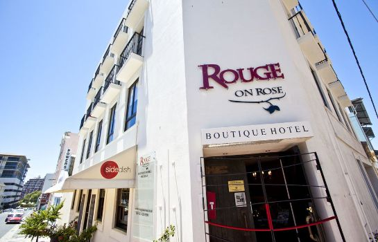 Buitenaanzicht Rouge on Rose Boutique Hotel