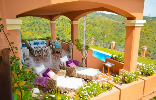 Terrasse The Marbella Heights Boutique Hotel