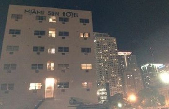 Vista exterior Miami Sun Hotel - Port of Miami/Downtown