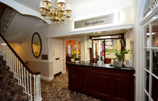 Reception The Crescent Hotel