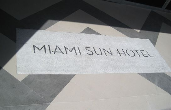Außenansicht Miami Sun Hotel - Port of Miami/Downtown