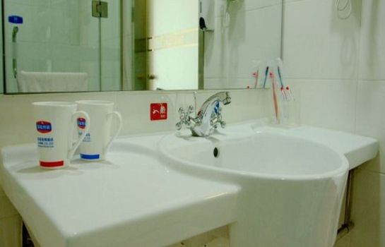 Bagno in camera Hanting Hotel Wuxi Railway Station North Plaza