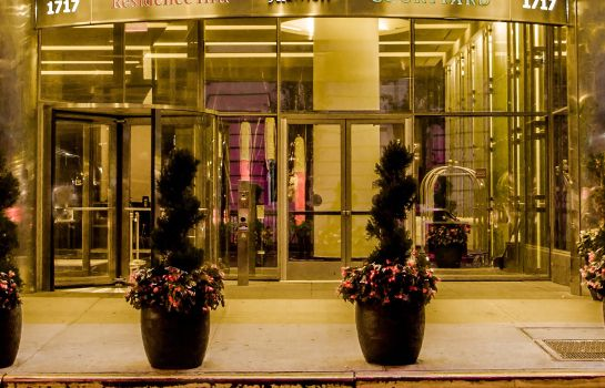 Vista exterior Residence Inn New York Manhattan/Central Park