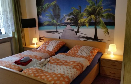 Chambre double (standard) Hotel-Pension Dressel