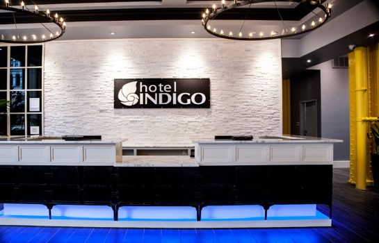 Lobby Hotel Indigo NEWARK DOWNTOWN
