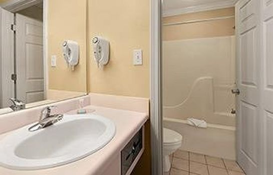 Badkamer Travelodge - Ocean Springs