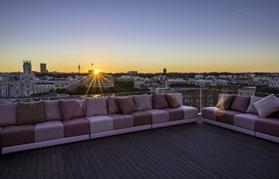 Terrasse NH Collection Madrid Suecia