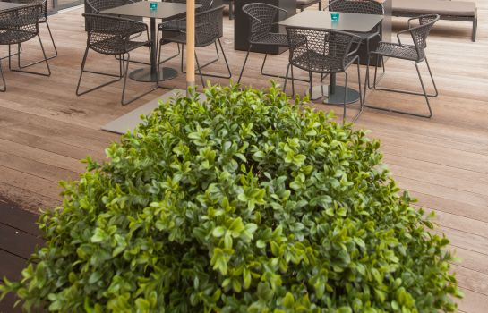Terrasse Motel One Messe