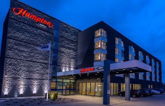 Exterior view Hampton By Hilton Gdansk Airport