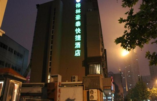 Buitenaanzicht Green Tree Inn Qingdao Railway Station Express Hotel (Domestic only)