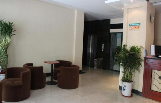 Hotelhalle Green Tree Inn Qingdao Railway Station Express Hotel (Domestic only)