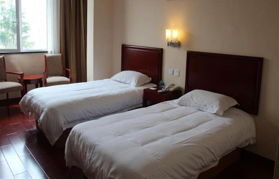 Tweepersoonskamer (standaard) Green Tree Inn Qingdao Railway Station Express Hotel (Domestic only)