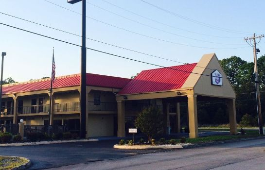 Vista exterior Knights Inn Lenoir City