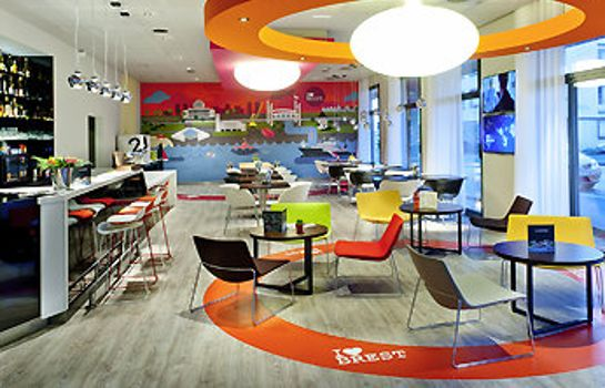 Hotel bar ibis Styles Brest Centre Port