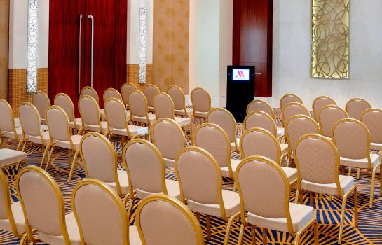 Conference room Marriott Hotel Al Jaddaf Dubai Marriott Hotel Al Jaddaf Dubai