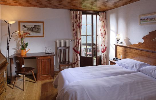 Double room (superior) Hotel de Gruyeres