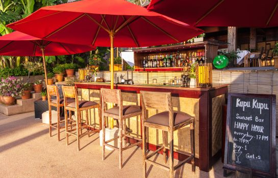 Bar del hotel Kupu Kupu Phangan Beach Villas & Spa by L'Occitane