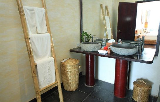 Cuarto de baño Kupu Kupu Phangan Beach Villas & Spa by L'Occitane