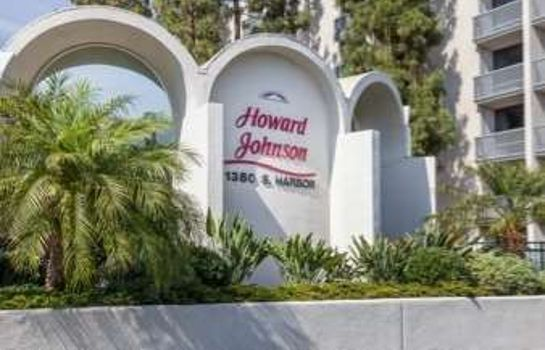 Außenansicht Howard Johnson Anaheim Hotel and Water Playground