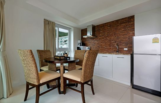 Kitchen in room Kata Ocean View Residences