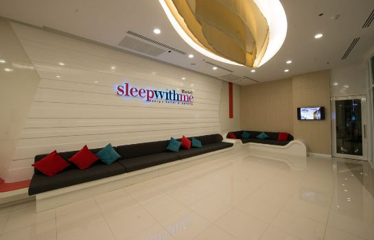 Empfang SLEEP WITH ME HOTEL design hotel @ patong