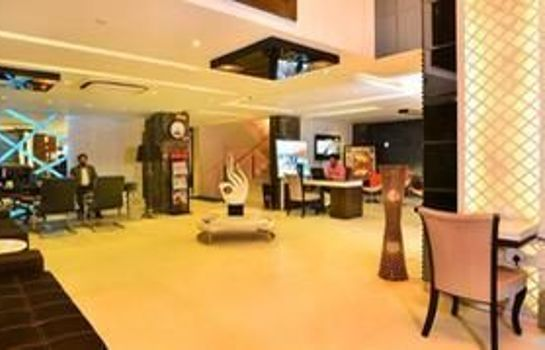 Hotelhalle Trimrooms Uppal International