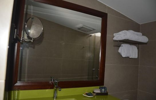 Badezimmer Hotel Boutique Huaca Wasi