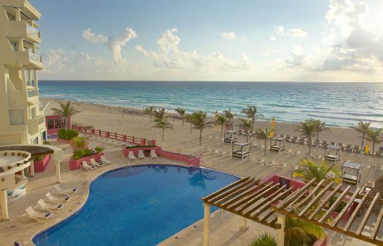Exterior view Hotel NYX Cancun