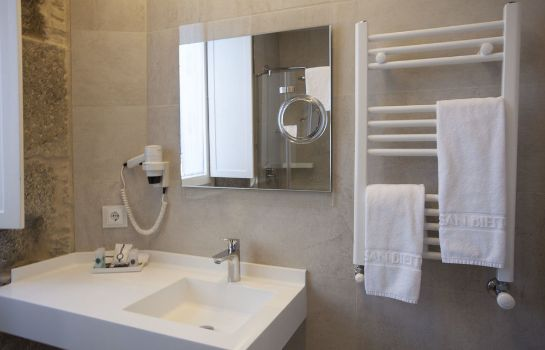 Bagno in camera Smart Boutique Hotel Literario San Bieito