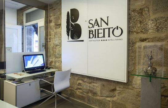 Vista all'interno Smart Boutique Hotel Literario San Bieito