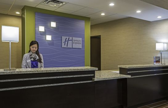 Hotelhalle Holiday Inn Express & Suites ORLANDO EAST-UCF AREA