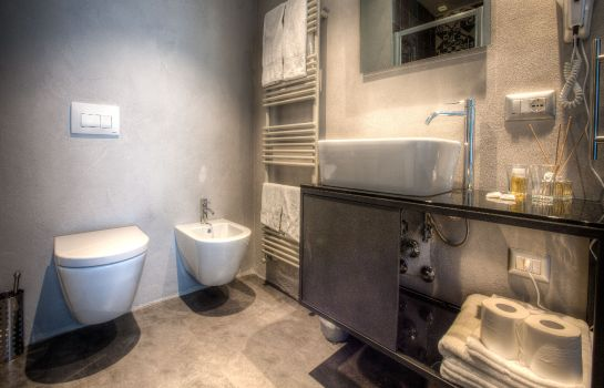 Bagno in camera Bell Suite Hotel