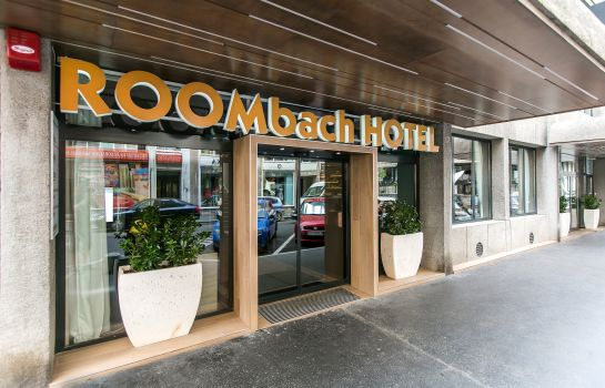 Exterior view Roombach Hotel Budapest Center