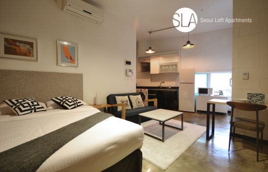 Single room (standard) Seoul Loft Apartments