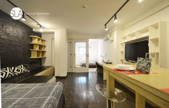 Double room (standard) Seoul Loft Apartments
