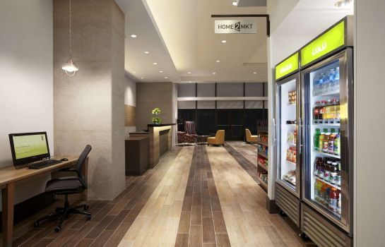 Hotelhalle Home2 Suites by Hilton Philadelphia - Convention Center PA