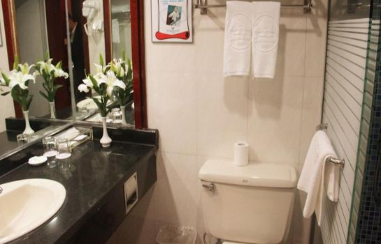 Badezimmer Green Tree Inn Ningbo Railway Station Xingning Road Seagull Business (Domestic only)