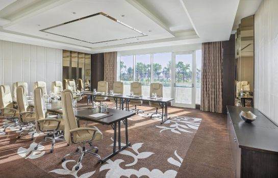 Conference room Waldorf Astoria Dubai Palm Jumeirah