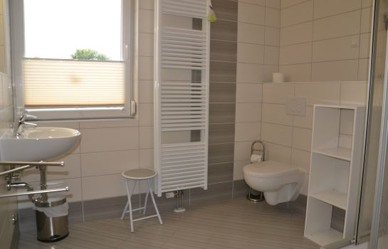Badezimmer Pension Villa Bathun